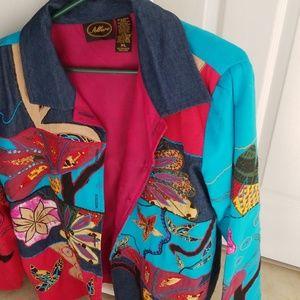Jackets & Blazers - Embroidered jacket